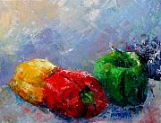 Pepper Paintings - Peppers by Marta Styk