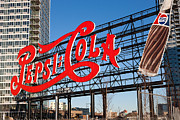 Lighting - Pepsi-Cola Sign I by Clarence Holmes