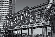 Pepsi Cola Framed Prints - Pepsi-Cola Sign II Framed Print by Clarence Holmes