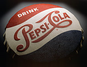 Soda Prints - Pepsi Sign Print by Bob Nardi