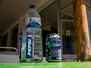 Pepsi Can Photos - Pepsi table by Guiseppe Olivetani