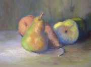 Food And Beverage Pastels - Pera Cinco by Marlene Kingman