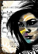 Sounds Digital Art Prints - Perceptions Print by Ramneek Narang