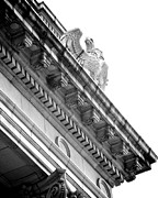 Neo-classical Metal Prints - Perch BW Metal Print by Slade Roberts