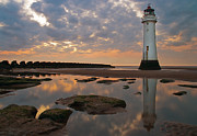 Perch Rock Lighthouse Print by Wayne Molyneux