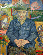 Post Art - Pere Tanguy by Vincent van Gogh
