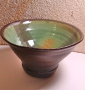Pottery Ceramics Prints - Perfect Bowl Print by Eric Hausel