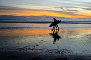 San Clemente Framed Prints - Perfect Days End Framed Print by Athena Lin
