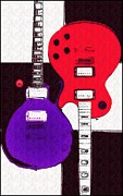 Perfect Fit -   Les Paul Print by Bill Cannon