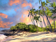 Haleiwa Paintings - Perfect Moment by Dominic Piperata