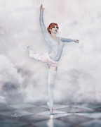 Ballet Art Prints - Perfection Print by Jutta Maria Pusl
