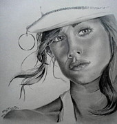 Sketches Drawings Originals - Perfection by Sohaj Singh Brar
