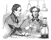 Dissolve Posters - Performing The Marsh Test, 1856 Poster by Science Source