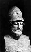 Ruler Posters - Pericles, Ancient Greek Ruler Poster by Photo Researchers