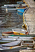Ogunquit Framed Prints - Perkins Cove Framed Print by Robert Clifford