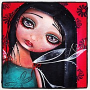 Instagroove Art - Perla - Sold - Art By Me  by  Abril Andrade Griffith