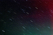 Meteor Shower Prints - Perseid Meteor Shower Print by Thomas R Fletcher