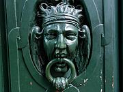 Door Knockers And Handles - Perseus Defeated by Edan Chapman