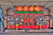 State Dinner Prints - Pershing Square Central Cafe I Print by Clarence Holmes