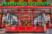 Pershing Photos - Pershing Square Central Cafe II by Clarence Holmes