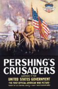 United States Government Posters - Pershings Crusaders Poster by War Is Hell Store
