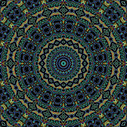 Persian Carpet  Digital Art - Persian Carpet by Joy McKenzie