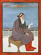 Persian Illustration Framed Prints - Persian Doctor, 16th Century Artwork Framed Print by Cci Archives