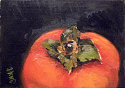 Persimmon Paintings - Persimmon by Yoshiko Mishina