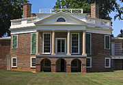 Poplar Forest Photo Metal Prints - Personal Villa Retreat of Thomas Jefferson Metal Print by Teresa Mucha