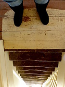 Stair Walk Prints - Perspective Print by Lainie Wrightson