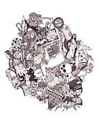 Peruvian Illustrated Journal Print by Tyler Auman
