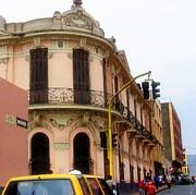 Peruvian Streets Print by Karen Wiles