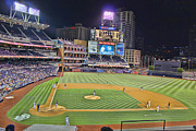San Diego Padres Stadium Photo Framed Prints - Petco Park San Diego Padres Framed Print by RJ Aguilar
