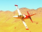 Motorsports Originals - Pete Zaccagnino and L-39 Race 24 Reno Air Races 2010 by Gus McCrea