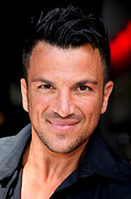 Sussex Framed Prints - Peter Andre 1 Framed Print by Jez C Self