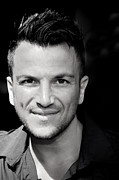 Sussex Framed Prints - Peter Andre 2 Framed Print by Jez C Self
