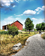 Peter Stuckey Farm Print by Tom Schmidt