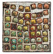 Repetition Tapestries - Textiles - Petit Fours Tray 1 by Lorraine Roy
