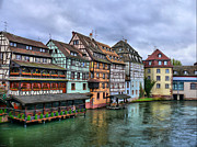 Petite-france, Strasbourg Print by Richard Fairless