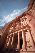 Petra Metal Prints - Petra, Jordan Metal Print by Michael Holst Images