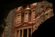 Petra Originals - Petra The Red Rose Old City by Ziyad Mihyar