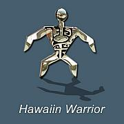 Tahiti Jewelry - Petroglyph Warrior by Vargas Jewelry