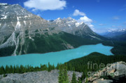 Canada Photos - Peyto Lake Overlook by Sandra Bronstein