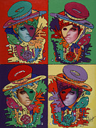 Pop Art Prints Painting Originals - Phantom Gaga by Stapler-Kozek