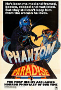 Brian De Palma Framed Prints - Phantom Of The Paradise, Poster, 1974 Framed Print by Everett