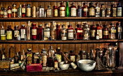 Apothecary Photos - Pharmaceuticals by Susan Candelario