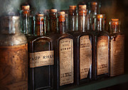 Mystery Prints - Pharmacy - Syrup Selection  Print by Mike Savad
