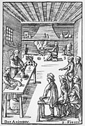 Reinhard Prints - Pharmacy Preparations, 16th Century Print by