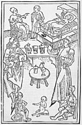 Reinhard Framed Prints - Pharmacy Scenes, 16th Century Framed Print by