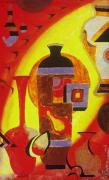 Vases Mixed Media Posters - Phase of Vase Poster by Shellton Tremble